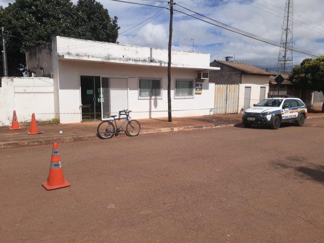 Agência dos correios é arrombada durante a madrugada em Quintinos