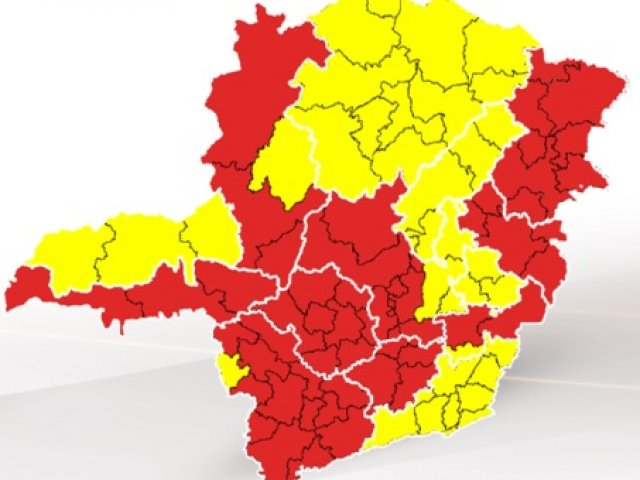Região de Patos de Minas continua na onda vermelha do plano estadual