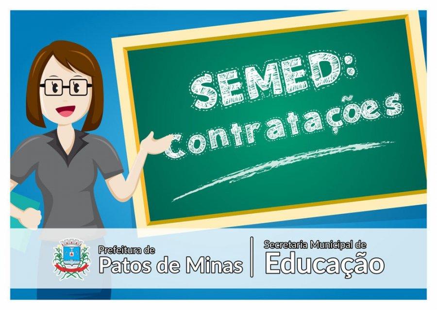 Semed publica edital de contratação de professores