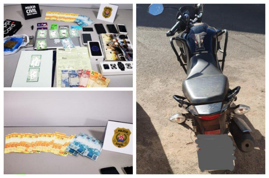 PC prende casal suspeito de estelionato em Patos de Minas
