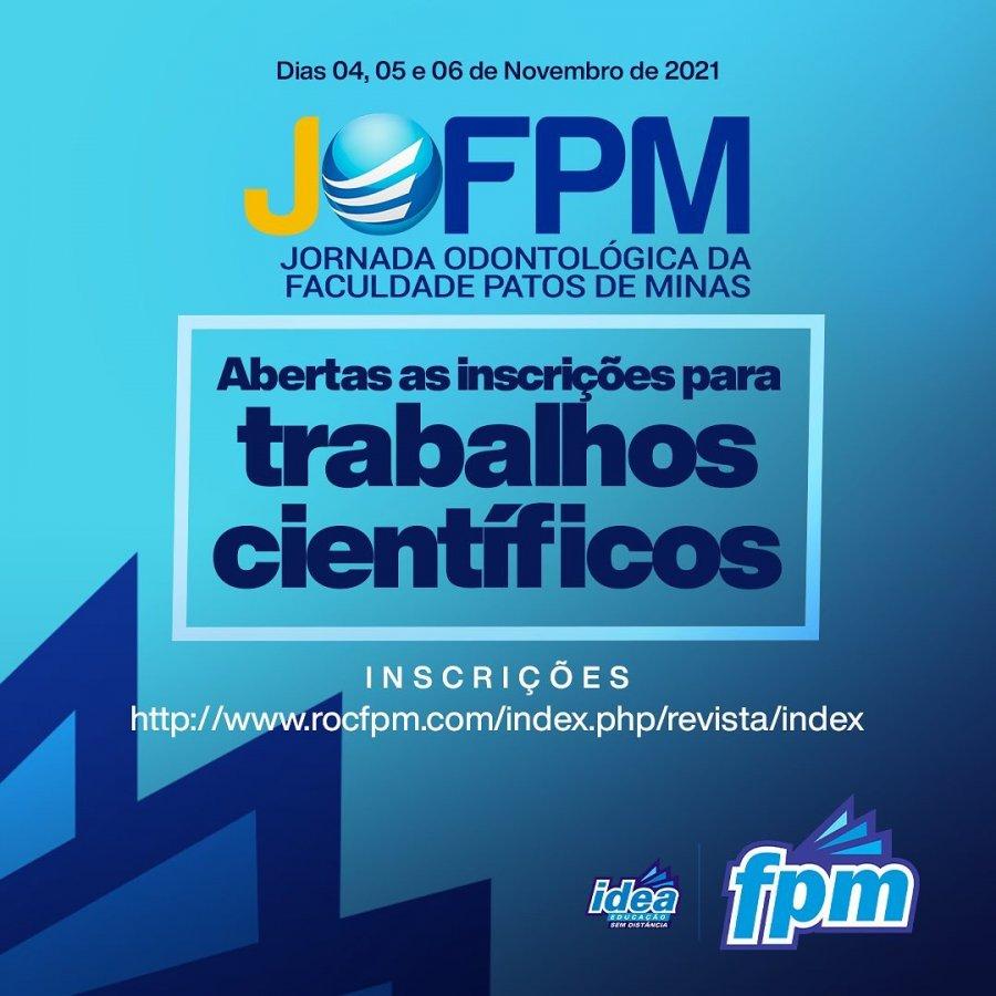 Vem aí mais uma edição da Jornada Odontológica da Faculdade Patos de Minas