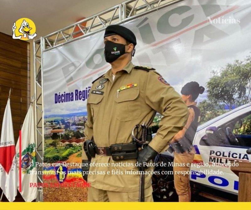 Covid-19: Comandante da PM de Patos de Minas segue em estado grave em UTI de Uberaba