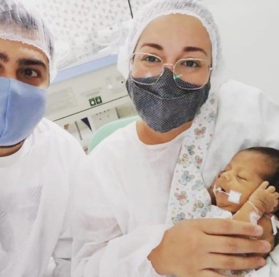 Lagoa Formosa: recém-nascida passa por cirurgia e pais pedem ajuda a população para custear tratamento