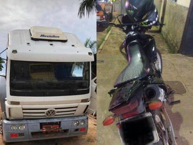 Paracatu: Militares do 45º BPM recuperam veículo e moto furtada, apreendem drogas e prendem suspeitos