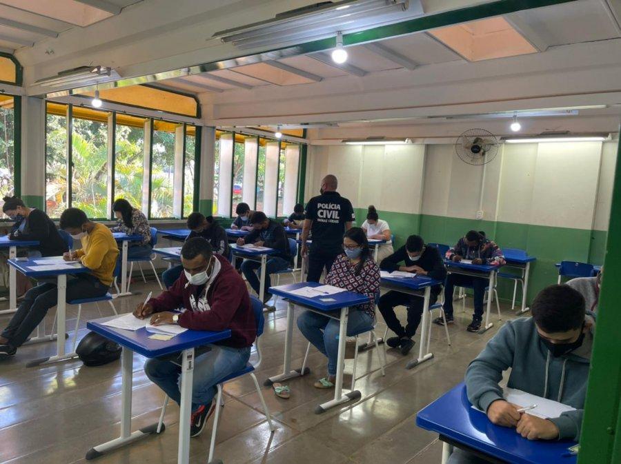 PC aplica mais de mil exames de legislação em Paracatu
