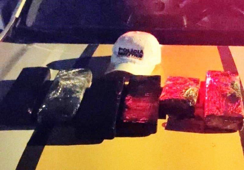 Suspeito é preso transportando mais de 5 kg de maconha na MGC-354