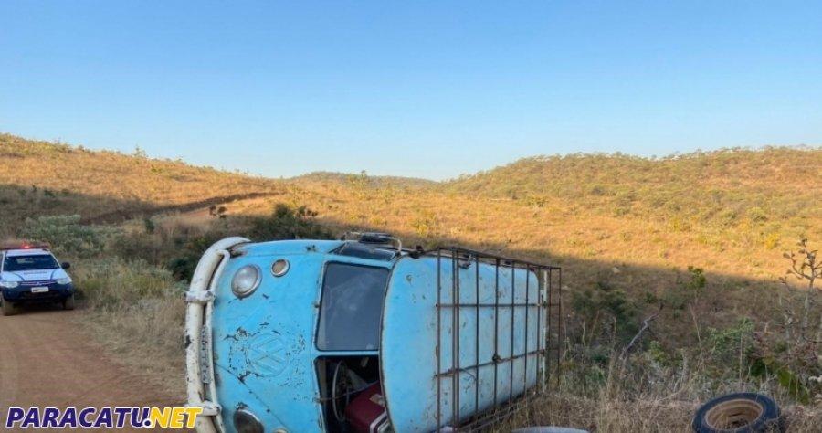 Idoso de 63 anos morre após perder controle do veículo em acidente de trânsito