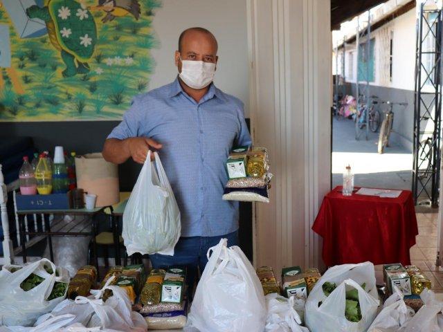 Alunos da rede municipal de Presidente Olegário começam a receber produtos do PNAE