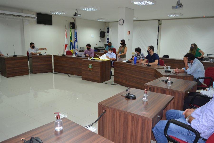 Comissão de Legislação, Justiça e Redação estuda projetos para reunião ordinária do dia 8 de abril