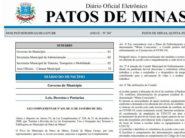Covid-19: novo decreto altera composição do comitê municipal, e portaria nomeia novos membros