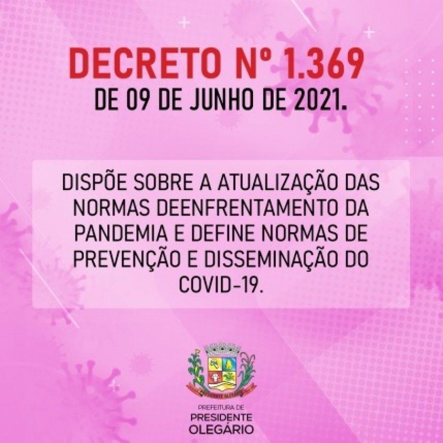 Novo decreto em Presidente Olegário proíbe funcionamento de bares, restaurantes, lanchonetes e venda de bebidas alcoólicas a partir das 22h