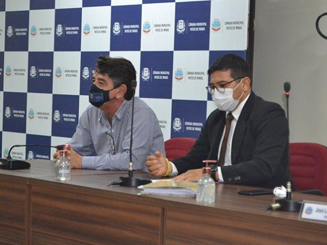 Comissão Processante que apura denúncia contra o vereador Lásaro Borges realiza primeira Audiência