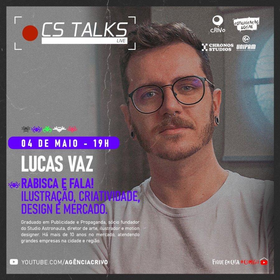 CS Talks abordará o tema Design na próxima terça-feira