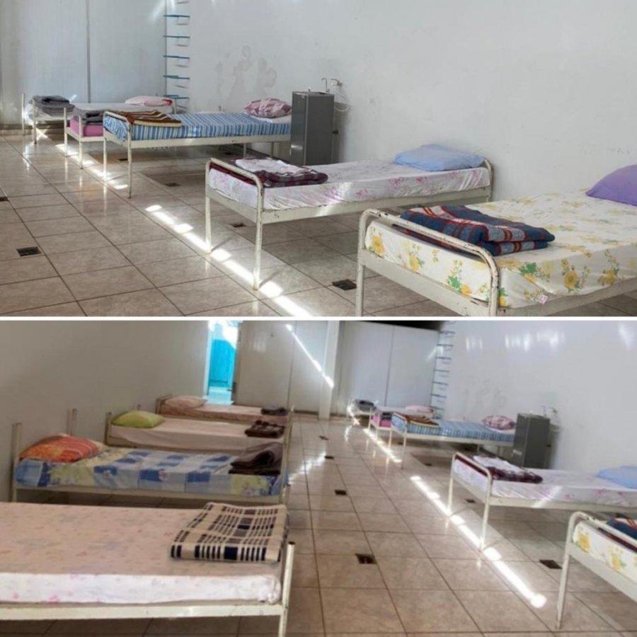 Migrantes e pessoas em situação de rua ganham abrigo temporário