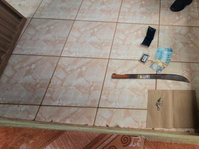 Homem morre após ser atingido por golpe de facão no pescoço em Lagoa Grande