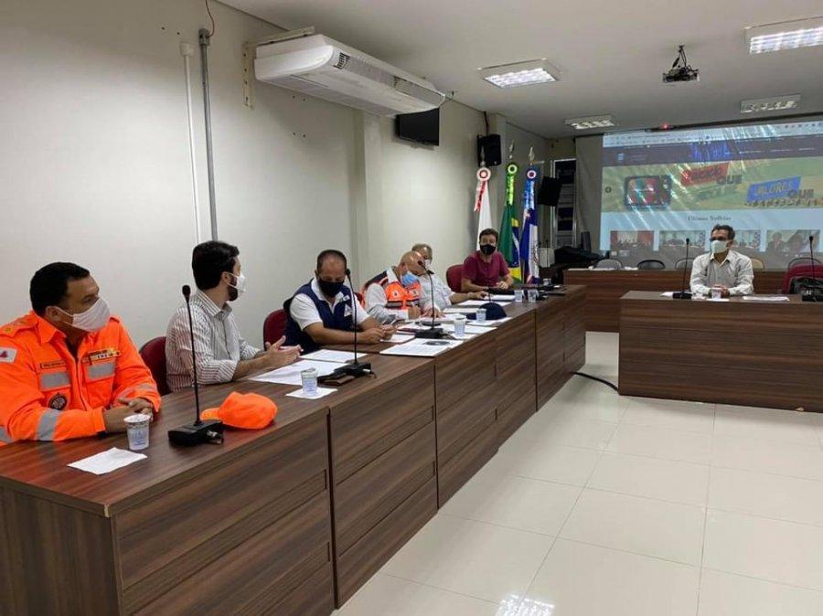 Prefeito e secretário de Agricultura participaram de reunião com o CIMA