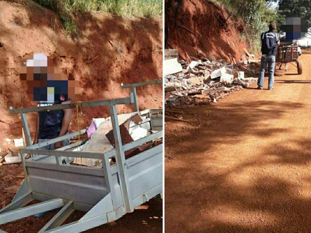 Blitz da Prefeitura intercepta descarte ilegal de resíduos