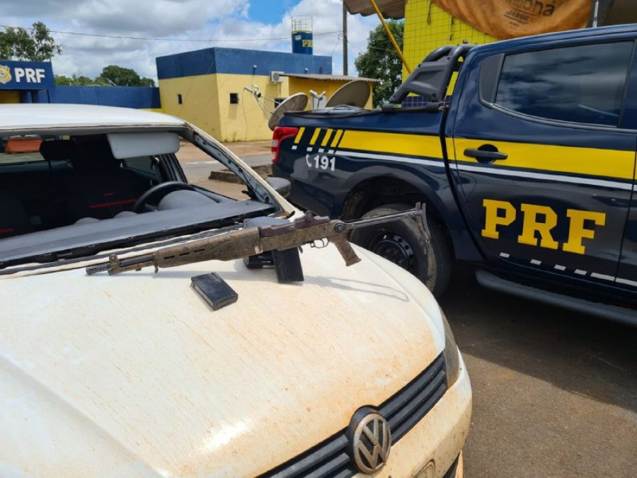 PRF apreende fuzil utilizado na segunda guerra mundial