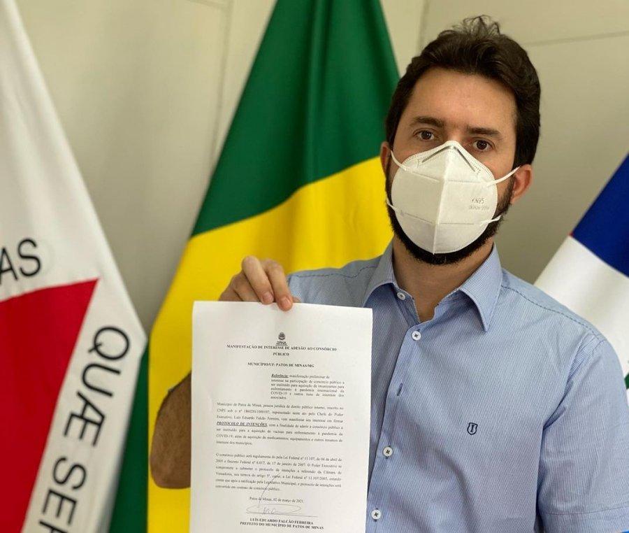 Patos de Minas demonstra interesse ao Consórcio Público de Prefeituras para a compra de vacinas