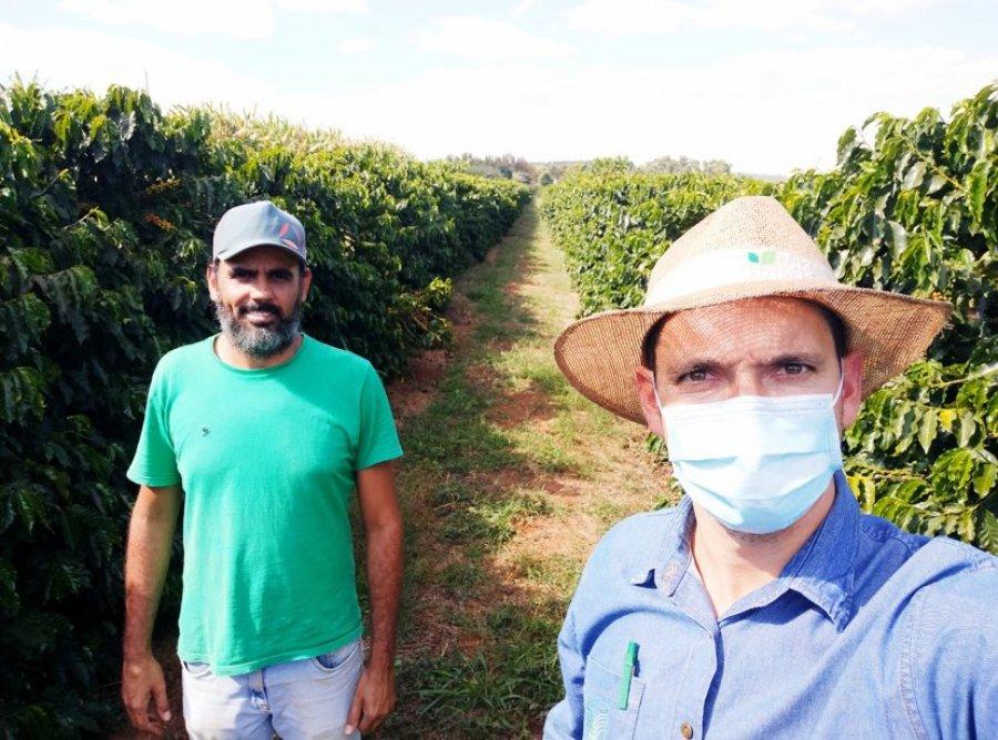 Personagem de livro do SENAR, cafeicultor de Patos de Minas quer ampliar exportação