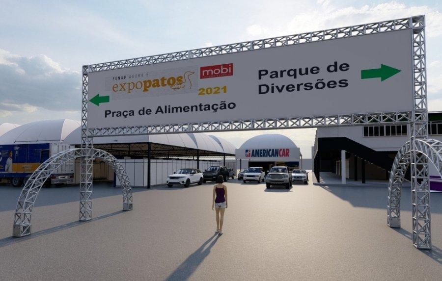 ExpoPatos começa dia 8 de outubro no Parque de Exposições em Patos de Minas