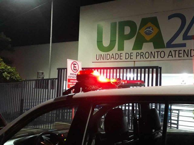 Jovem é socorrido após ser agredido com pauladas na cabeça pelo padrasto em João Pinheiro