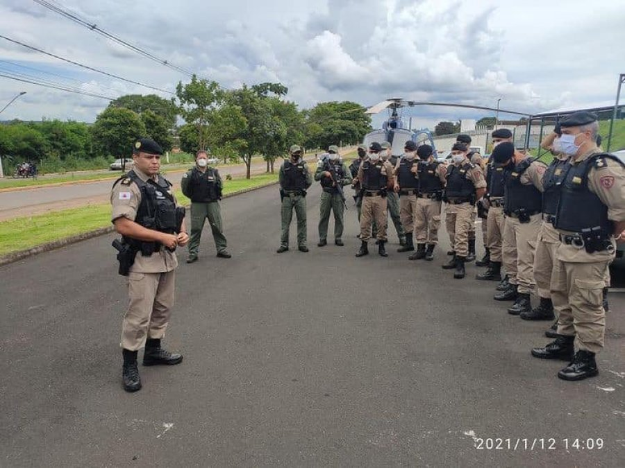 PM divulga resultados de megaoperação em Patos de Minas e região