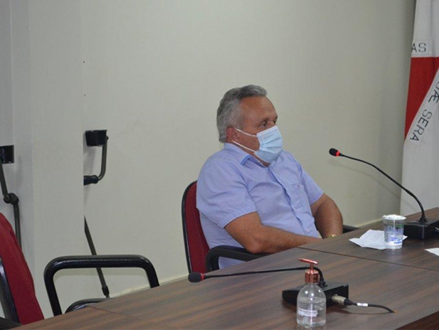 Vereadores da CPI que investiga a atuação da Copasa ouvem morador do distrito de Chumbo/Areado