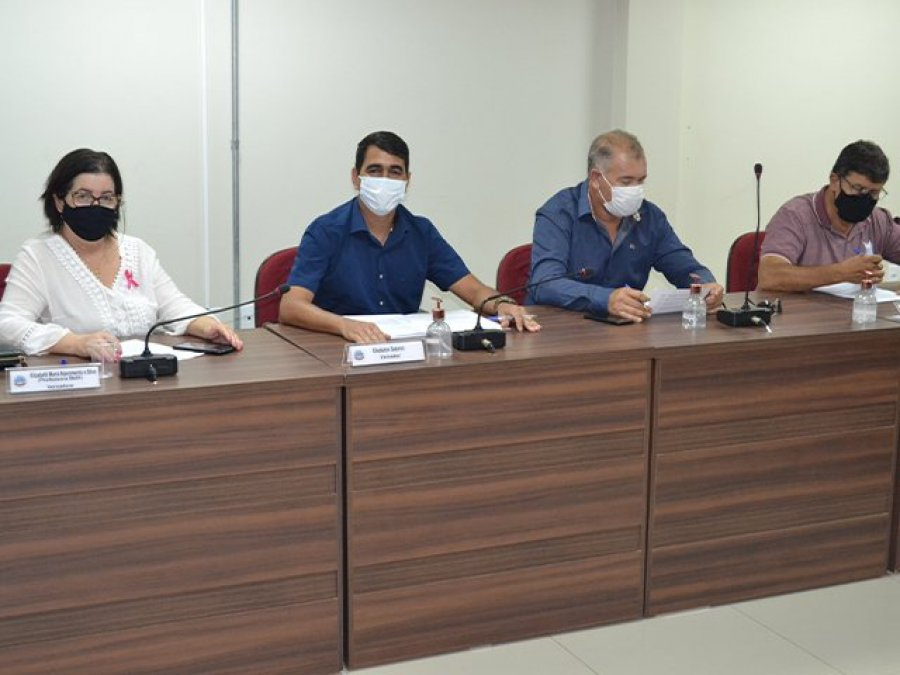 CJLR da Câmara Municipal de Patos de Minas analisa projetos de lei para a reunião ordinária do dia 14 de outubro
