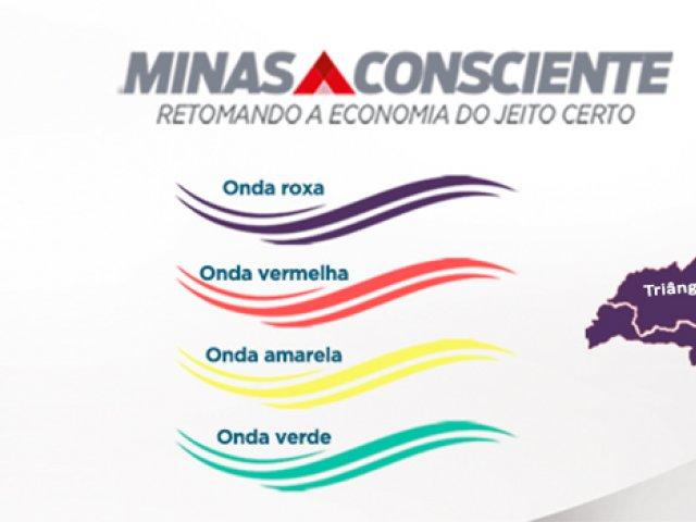 Norte e Triângulo do Sul vão para a onda roxa do Minas Consciente para restabelecer capacidade assistencial