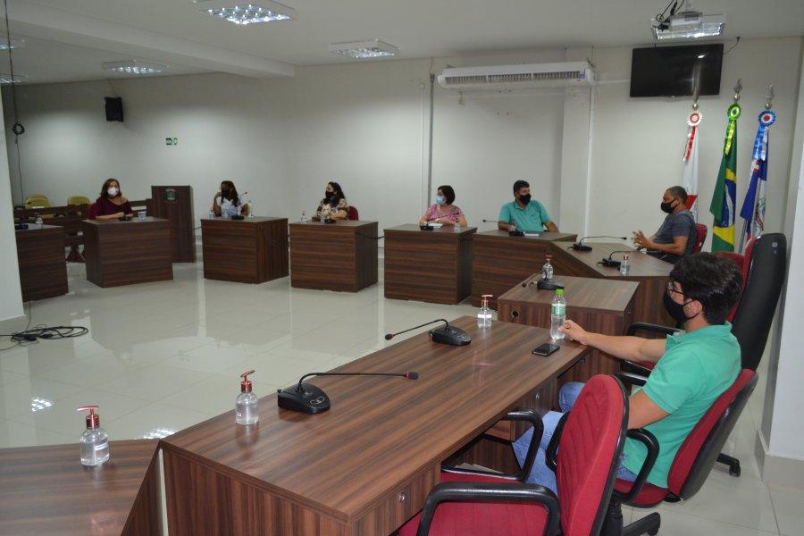 Comissão de Educação, Cultura, Turismo, Esporte e Lazer da Câmara Municipal recebe representantes do Balaio de Arte e Cultura