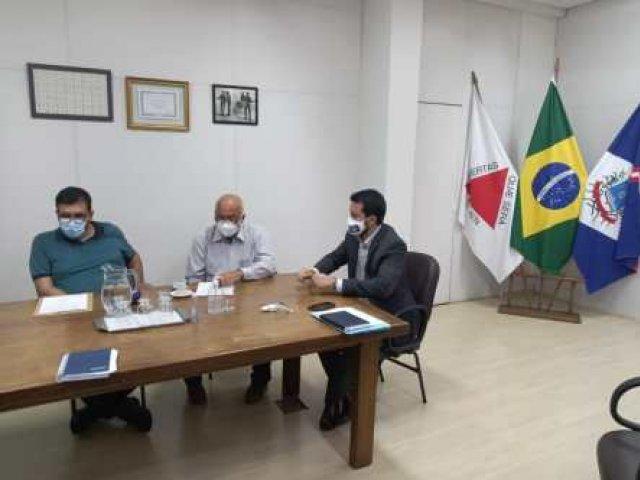 Ordem de serviço para revitalização de nascentes do córrego Bom Sucesso é assinada