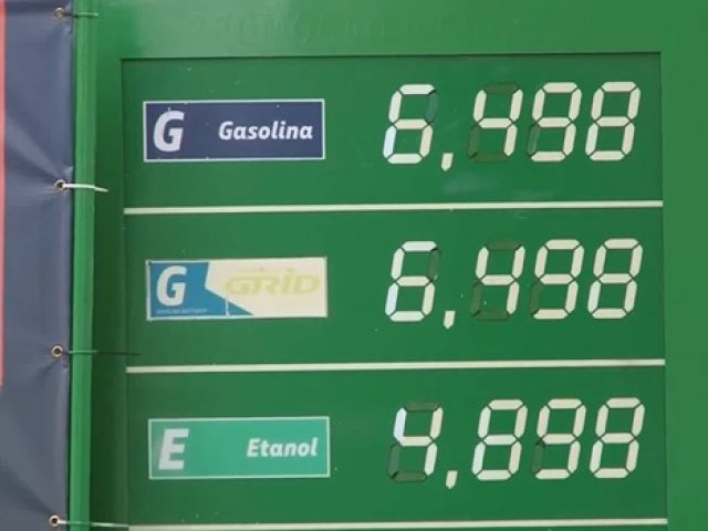 Preço dos combustíveis impacta o orçamento das famílias nas cidades da região