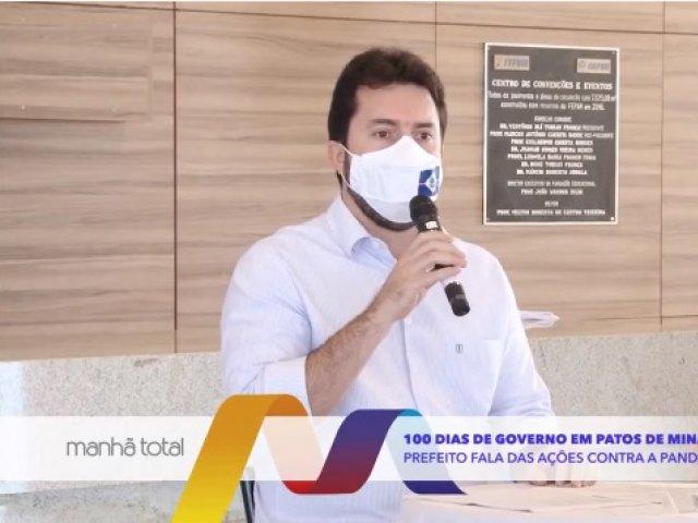 100 dias de governo do prefeito em Patos de Minas