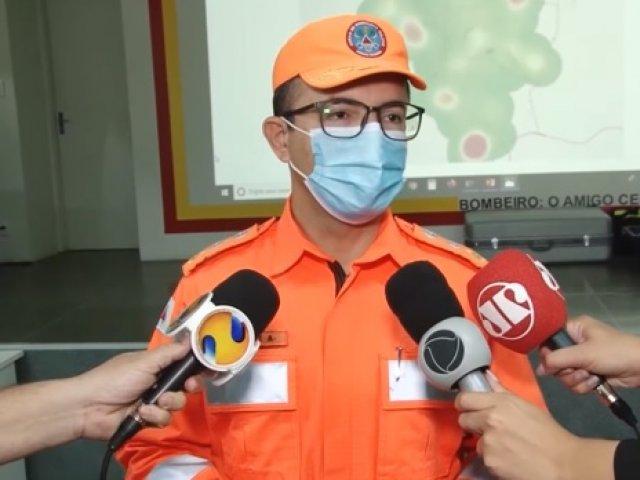 Bombeiros de Patos de Minas registram aumento de casos de incêndios