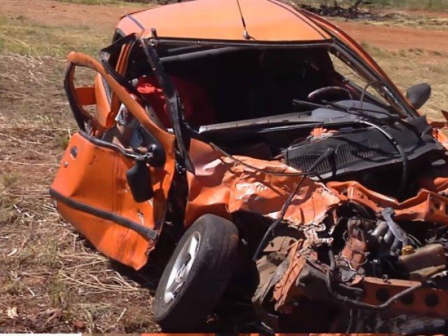 Acidente fatal na MGC 497 que liga Uberlândia a Prata