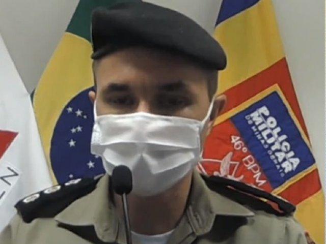 Bandidos invadiram a casa do ex prefeito de Iraí de Minas