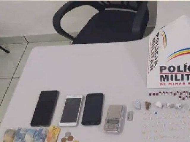 Dupla é presa por tráfico de drogas em Serra do Salitre