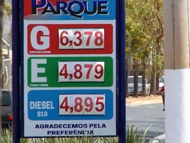 Em Patos de Minas, não houve registro de filas e falta de combustível