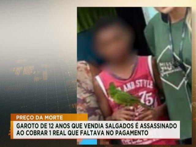 Regionais: Criança que vendia salgados é morta ao cobrar R$ 1 que faltava do pagamento