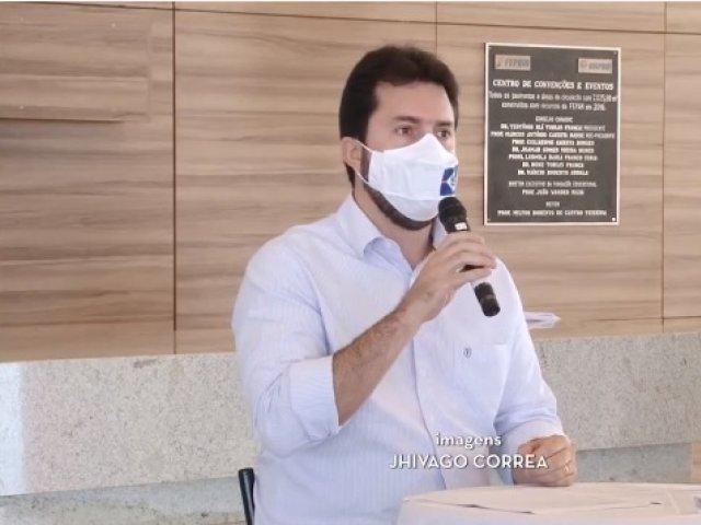 Prefeito de Patos fala das ações contra a pandemia